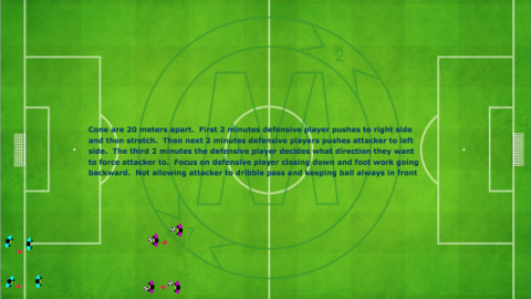 1 v 1 Defensive Warmup__ by Matthew