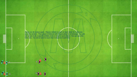 1 v 1 Warmup Dribbling Exercises__ by Matthew