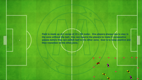 2 Zone Game (2v2) and (1v1) Plus 1 Neutral Player_ by Matthew