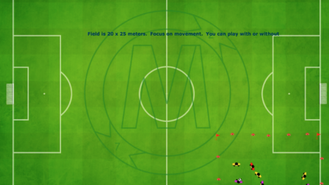 Possession Game (3 v 3) Plus 1 Neutral Player_ by Matthew
