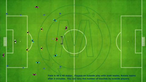 Transition Game 4 v 4 With (4 Outside Neutral Players)_ by Matthew
