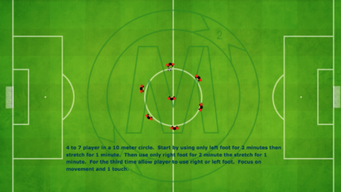 Passing 1 Touch Circle Exercise_ by Matthew