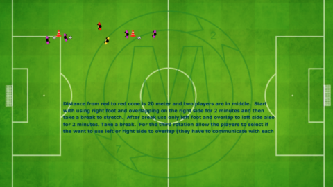 Overlapping Sequential Passing Drill_ by Matthew