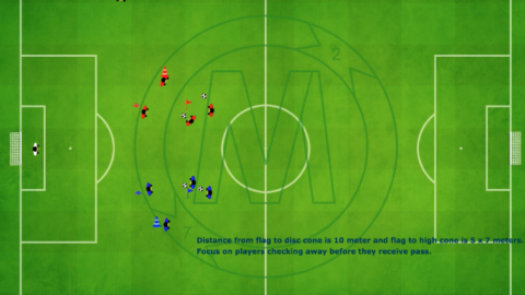 Finishing & Crossing (variation) with 4 Players_ by Matthew