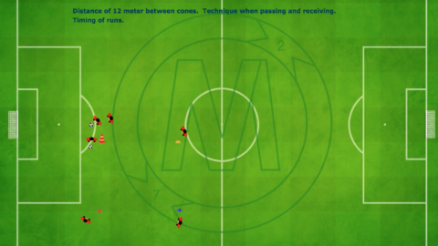 Receiving and Passing Combination Exercise_by Matthew