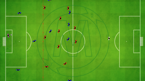 Defending in Attacking Third With 30 Meter Line Of Confrontation_by Matthew