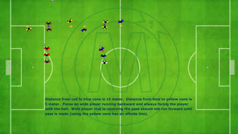 Double Pass T_Combination Passing Exercise_ by Matthew