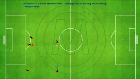 Passing Combination Using Through Exercise_by Matthew